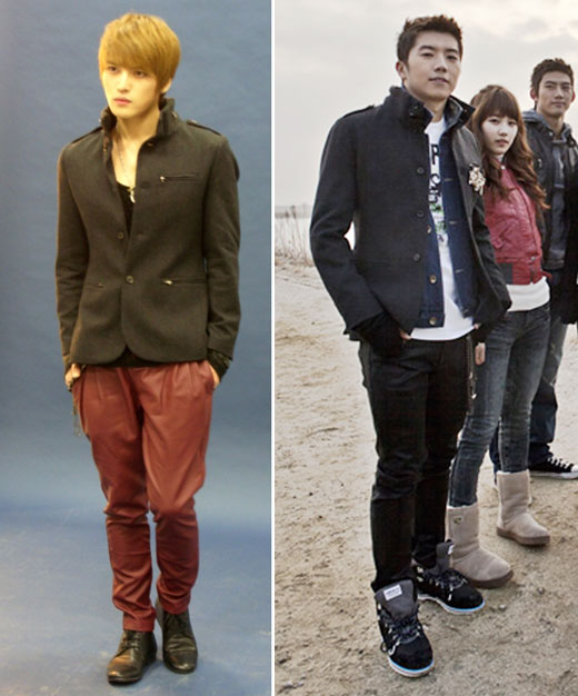 Jaejoong و WooYoung عضو 2PM يرتديان نفس الجاكيت .. من الأجمل ؟؟! Jaevswooyoungsyc2