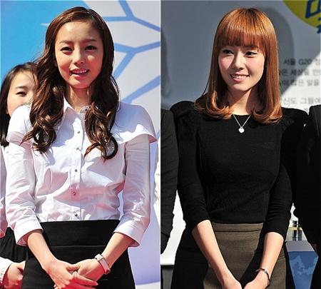 من تغني بطريقة أفضل .. Jessica أم Hara عضوة KARA ؟؟! | Sм ...