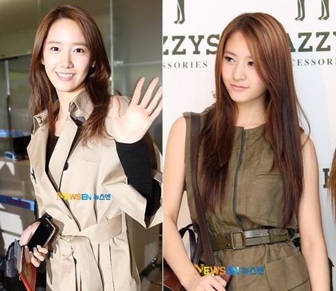 كلما تكبر Krystal أكثر , كلما تصبح تشبه Yoona أكثر ...